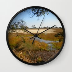 Beautiful Swamp Wall Clock