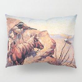 "Frederic Remington Western Art ""Apache Ambush"" Pillow Sham"