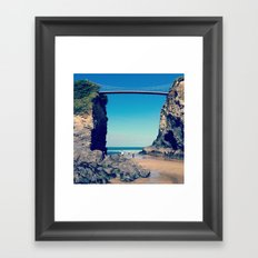 Avenue To Happiness  Framed Art Print