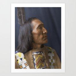 Little Dog - Brulé Lakota Sioux - American Indian Art Print