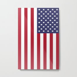 Old Glory, the Stars and Stripes of the USA - America! Metal Print