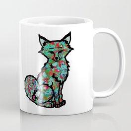Hydrangea Fox Coffee Mug