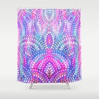 circus Shower Curtains featuring Circus by Marta Olga Klara