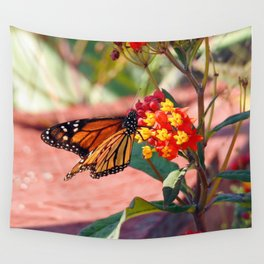 Monarch Beauty Wall Tapestry