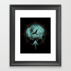 the last predator Framed Art Print