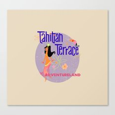 Tahitian Terrace Canvas Print