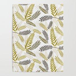 Wheat Pattern Poster