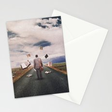The Illusion Of Reality Stationery Cards