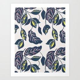 Plants from the Garden Art Print