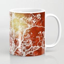 Burgundy Tree Art Coffee Mug