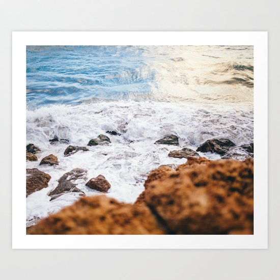Wild Summer #society6 #print #decor #art Art Print