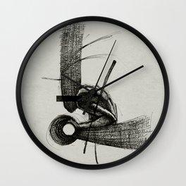 Pilgrim I. Wall Clock