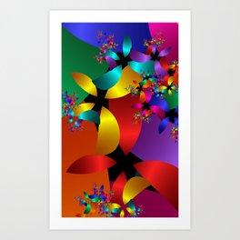 fractal geometry -120- Art Print