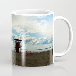 Pärnu beach Estonia - Winter beach Coffee Mug