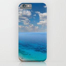 The beach Pefkoulia in Lefkada, Greece iPhone Case
