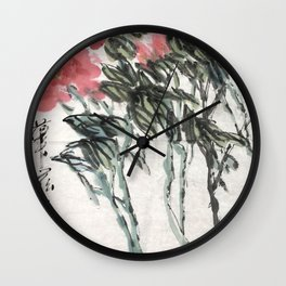 AU 58 - National Rhyme Wall Clock