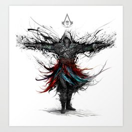 assassins creed Art Print