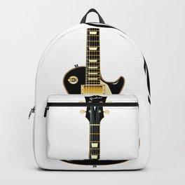 Black Guitar Duo Backpack