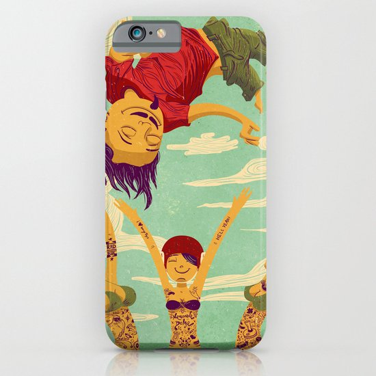 Tapete Voador iPhone & iPod Case