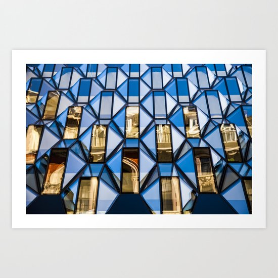 Geometric Glass  Art Print