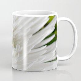 White Spider Mum Coffee Mug