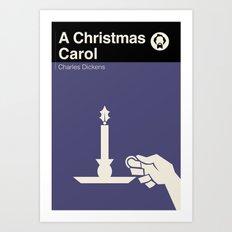 A Christmas Carol Art Print