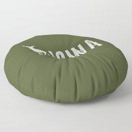 Deer: Iowa Floor Pillow