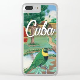Cuba Scenery 2 Clear iPhone Case
