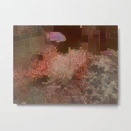 Aquarium Abstract Metal Print