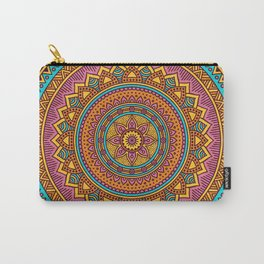 Hippie mandala 63 Carry-All Pouch