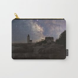 Photoart Lighthouse under the stars Carry-All Pouch