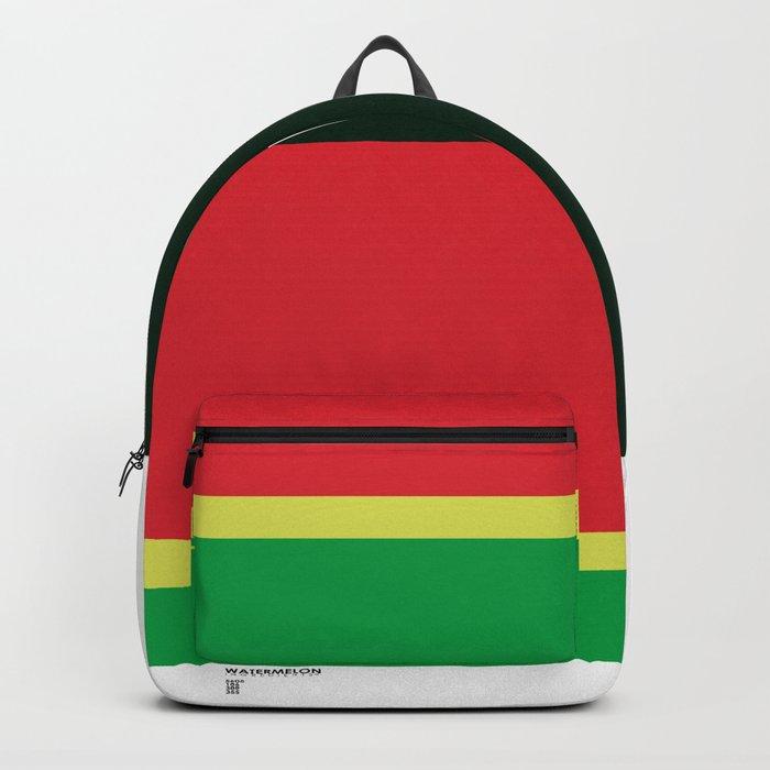 Pantone Fruit - Watermelon Backpack
