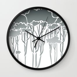 Forest Canopy Wall Clock