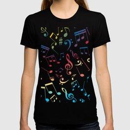 Musical Notes 5 T-shirt