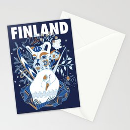 My Finland Stationery Cards