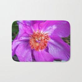 Violet Blossom - Leo Look  Bath Mat