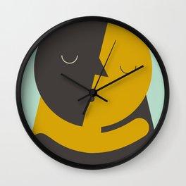 Love poster Wall Clock