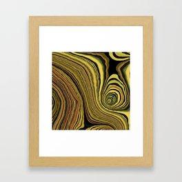 Goldenization Framed Art Print