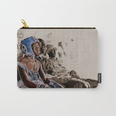 BRONX BOXING BOYS - sepia/blue version Carry-All Pouch