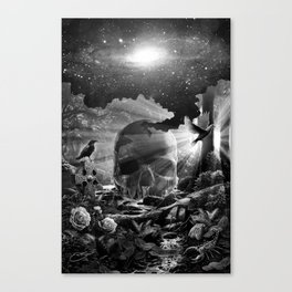 XIII. Death & Rebirth Tarot Card Illustration (Alternative Version) Canvas Print