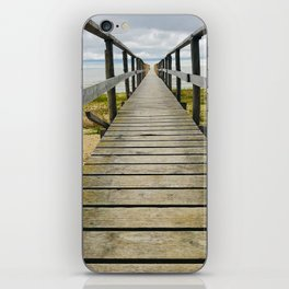 To the very end - Lake Winnipeg, Manitoba iPhone Skin