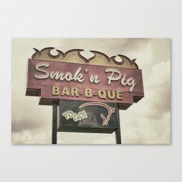 Piggy Canvas Print