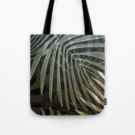 Tropical Palm Print Multi-Colored Tote Bag