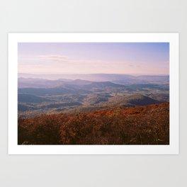 Shenandoah Valley Art Print