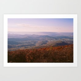 Shenandoah Valley Art Print