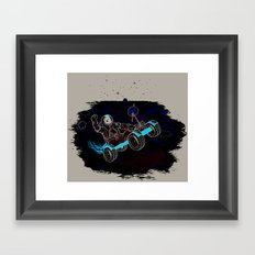 Space Dementia Framed Art Print