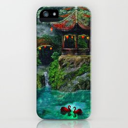 Tale of the Red Swans iPhone Case