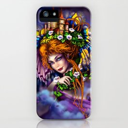 Fairy love and magic iPhone Case