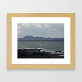 Arthur's Seat in the Distance Framed Art Print
