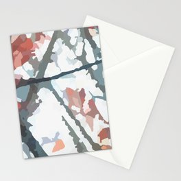 Tree in the Wind. 1 from a set of. Stationery Cards